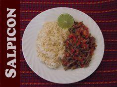 #Receta de Salpicón #Guatemala The food from #Guatemala is Delicious #Gladys Jeannette