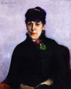 Woman with a Rose - Gustave Caillebotte - The Athenaeum