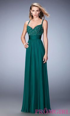 f35ef96d4d0 Image of long sleeveless sweetheart dress Front Image Formal Prom