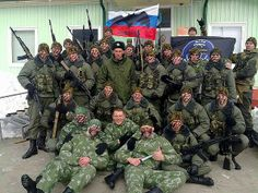 GRU (Military Intelligence) Russian special forces.