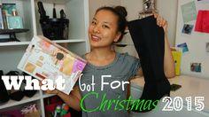 What I Got For Christmas 2015 Ted Baker, Kurt Geiger, Nivea...| Asia Jade