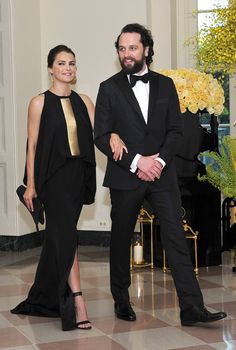 Pin for Later: While You Were Looking at the FLOTUS, Keri Russell Was Wearing Her White House Best