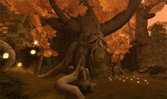 Druids Trees:  Garden of Dreams, Second Life.
