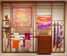 SHINSEGAE DEPARTMENT STORE, Seoul, South-Korea, quot;Here We Are quot;, for Hermes, pinned by Ton van der Veer