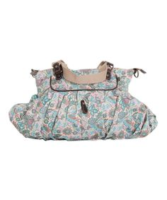 Loving this OiOi Indian Paisley Diaper Bag on #zulily! #zulilyfinds