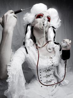 Photo: Gothic Beauty » Dark Pinup Girls