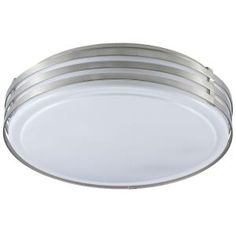 Filament Design Cathrine 3 Light 4.5 in. Satin Chrome Ceiling Flush Mount-CLI-DN14891158 at The Home Depot
