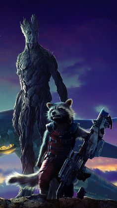 guardians_of_the_galaxy__rocket_and_groot___mobile_by_toaster0107-d7l3wg8.jpg (720×1280)
