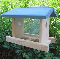 Bird Feeders and Bird Houses make a perfect gift for kids instead of toys.