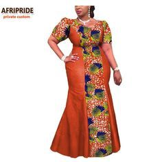 Please pay close attention to sizing measurements (if applicable), as items may run small. Customized sizing available Brand Name: AFRIPRIDE Type: Kanga Clothing Material: Cotton Color(s): Various colors/patterns available Lining: No Length: Ankle Sleeve: Short Neck: V-neck Customizable: Yes