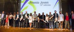 Entrega de los Premios Joven de la Complutense, que cuentan con el apoyo de Banco Santander (23/06/14) http://bsan.es/1mehaWB