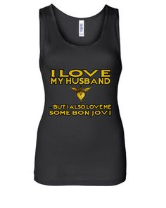 Husband Bon Jovi Tank Top