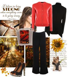 """""""coffee & oranges on the autumn evening"""" by ranissa ❤ liked on Polyvore"""