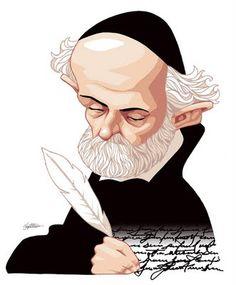 """""""Os corpos se retratam com o pincel, as almas com a pena"""", Padre António Vieira"""