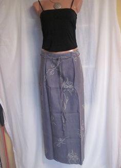 Kaufe meinen Artikel bei #Kleiderkreisel http://www.kleiderkreisel.de/damenmode/lange-rocke/54385692-grauer-leinenrock