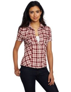http://www.amazon.com/exec/obidos/ASIN/B007HXWQQE/pinsite-20 Levi's Women's Short Sleeve Snap Front Western Shirt Best Price Free Shipping !!! OnLy 39$