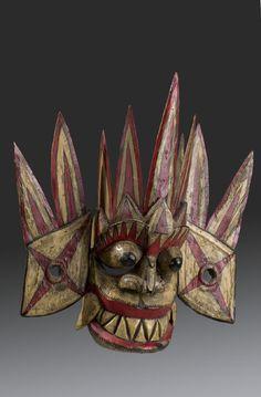 Wooden mask [...], Sri Lanka. Museon, CC BY