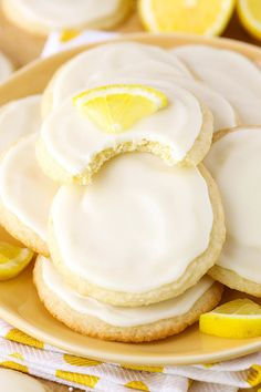 Limoncello Cookies - soft, chewy with a lovely lemon flavor!