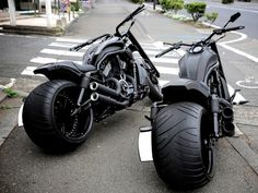 Black Fat Twins | Totally Rad Choppers