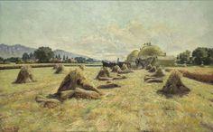 The Harvest  By Lorus Pratt. Fine Art Print.