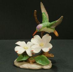 HUMMINGBIRD ORNAMENTS CHOOSE Ceramic Blown Glass Metal Flowers 1994 1995 MORE