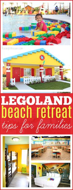 Legoland Beach Retreat Tips for the Best Family Vacation | How to make the most of your Legoland Florida stay - Raising Whasians via @raisingwhasians (AD)