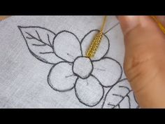 hand embroidery , beautifull flower with beads, modern flower embroidery Hand Embroidery Projects, Hand Embroidery Videos, Bead Embroidery Patterns, Flower Embroidery Designs, Bead Embroidery Jewelry, Hand Embroidery Stitches, Beaded Embroidery, Beaded Banners, Couture
