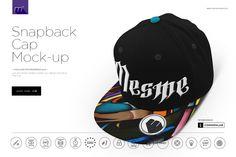 Snapback Cap Mock-up  @creativework247