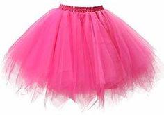 Flamingo Kostüm selber machen Pinkes Tutu | Kostüm-Idee zu Karneval, Halloween & Fasching