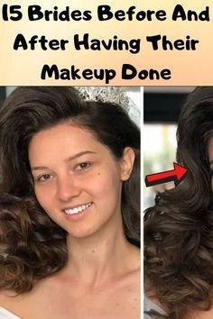 15 Brides Before And After Having Their Makeup Done