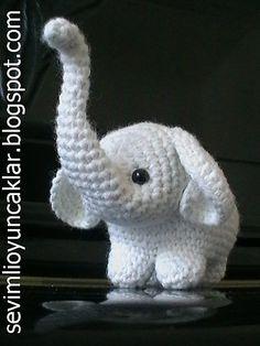 croche elefantes - Pesquisa Google