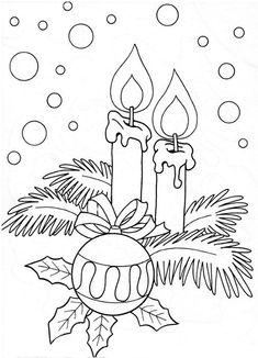 Weihnachten Kerzen Schnee Ornament Holly verlässt schön - New Ideas Vintage Embroidery, Hand Embroidery, Embroidery Designs, Christmas Embroidery Patterns, Applique Patterns, Christmas Colors, Christmas Art, Christmas Candles, Beautiful Christmas
