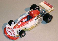 F1 Paper Model - 1977 GP German Ian Scheckter March 761B/1 Paper Car Free Download