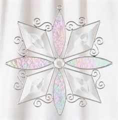 free snowflake stained glass patterns - Yahoo Image Search Results