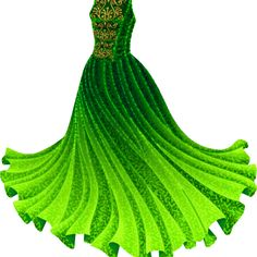 Green Princess Gown at Liana's Paper Dolls. Full post, printable PDFs at the site! Dress Drawing, Drawing Clothes, Dress Sketches, Fashion Sketches, Anime Outfits, Cute Outfits, Costumes For Women, Paper Dolls, Designer Dresses