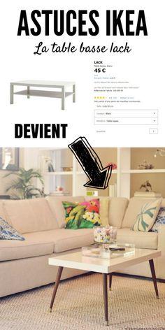 Dans cet article, vous allez découvrir 23 façons de personnaliser certains produits IKEA. Avec un peu d'ingéniosité, c'est fou tout ce qu'on peut faire ! Ikea Hackers, Office Desk, Diy Furniture, Diy And Crafts, Inspiration, Home Decor, Construction, Happy, Houses