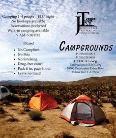 Joshua Tree Retreat Center - Camping