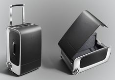 Get the taste of Rolls Royce wherever you are, Rolls Royce Wraith Luggage Collection is a set of luxury traveling companion that certainly takes you to a different class.