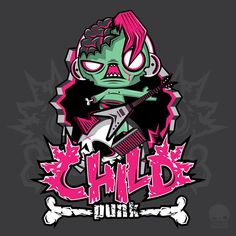 Child Punk Zombie by thinkd on deviantART