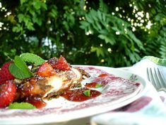 grilled balsamic chicken with strawberry salsa | ChinDeep
