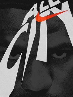 Nike NBA Allstars - The Portfolio of Ross McCampbell