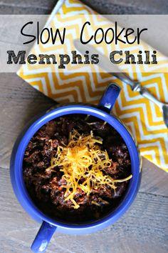 Slow Cooker Memphis Chili