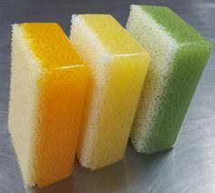 Refreshed Colors  - Orange  - Lemon  - Lemon Lime  #Florida #scrubby #scrubbysoap #usa #madeinusa #handmade #soap #brushcleaner #handcleaner #gifts
