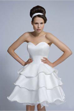 Modern Short Chic Wedding Dresses