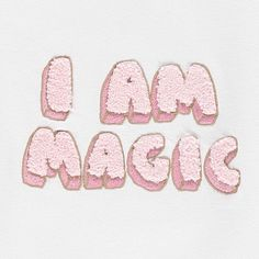 I Am Magic Sweatshirt-product Ww Girl, Spirit Magic, Baby Posters, Kids Prints, Pink Love, Embroidery Techniques, Kids Wear, Shirts For Girls, T Shirt