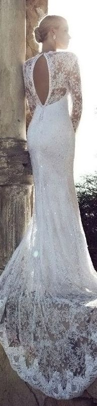 Vintage Bridal Gowns:: Lace:: Vintage Wedding:: Sleeves:: Wedding Dresses  For more wedding tips and ideas go to my blog. www.mrspurplerose.com