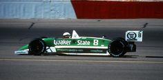 Teodorico Fabi e la sua March- Porsche Indy ' 88