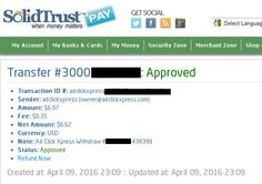 I am getting paid daily at ACX and here is proof of my latest withdrawal. This is not a scam and I love making money online with Ad Click Xpress. Join for FREE and get 10$ + 5$ Ad and Media value packs from ACX. My #63 Withdrawal Proof of online income from Ad Click Xpress.