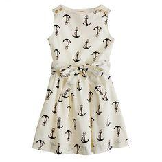 jcrew candy anchor dress