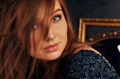 Darina   by valeriabliok brunette girl, make up, studio